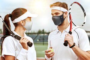 呼吸のし易い3DメッシュサンシェードマスNAROOMASKN0Uエヌゼロユースポーツに限らず外出時の日焼け対策マスクとしてご使用いただけます。