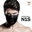 NAROO MASK (ナルーマスク) N1s UV99%カット 夏用スポーツマスク 吸汗速乾&やわ