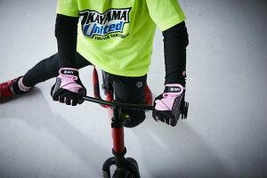 apt'(エーピーティー)こども用サイクルグローブ男の子用女の子用ロングフィンガー自転車用ランバイク用手袋