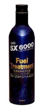 トヨタ・タクティー・エンジンオイル添加剤QMI製SX6000フューエルトリートメントSX-F250(250ml)