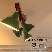 スポットライト【SNAFKIN4:スナフキン4】シーリングライト|4灯|ホワイト/ブラック/グリーン|エコ|省エネ|電球型蛍光灯対応|LED電球対応|照明|ライト|ヴィンテージ|ウッド|可愛い|おしゃれ|スポットライト 4灯|シーリングライト おしゃれ 10P26Mar16