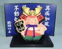 陶器の人形 風林火山(武田信玄)(兜)セット