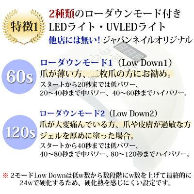 日本製ジェルネイルキットLED38w1