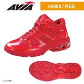 【ポイント10倍】送料無料AVIAアヴィアフィットネスシューズクッション性・安定性・反発性V6000RED17SS