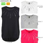 DANSKIN(ダンスキン)トレーニングTシャツ吸汗速乾UVカットDN76354【メール便指定可能】【17SS】◇