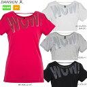 DANSKIN(ダンスキン)トレーニングTシャツ吸汗速乾 UVカット DN77153【メール便指定可能】【17SS】◇