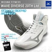 予約2020年9月上旬発売MIZUNOミズノウエーブダイバースLG3Ltd20th20周年記念限定モデルWAVEDIVERSEフィットネスシューズ男女兼用2EK1GF2075-01