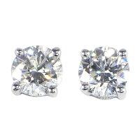 グラフピアスK18WGダイヤモンド0.33ct(E/VS2/VGGDEX)ダイヤモンド0.33ct(E/VS2/3EX)【中古】