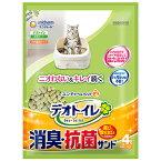 【ユニ・チャームペット】デオトイレ飛び散らない消臭・抗菌サンド(4L)