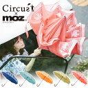 【期間限定 送料無料】二重傘 moz × circus モズ サーカス【傘 長傘 レディース 撥水