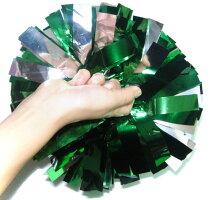 銀と深緑メタリックと緑メタリックの3色ミックス