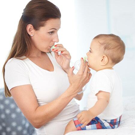 鼻水吸引器ノジブーエコ花粉風邪鼻吸い器鼻水吸引器口吸い