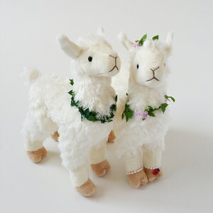 ウェルカムドールアルパカ完成品、結婚式ぬいぐるみウェディングドール結婚祝いアルパカ【あす楽対応】結婚式受付装飾に