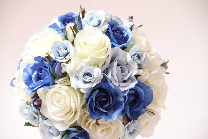 結婚式ブーケ【ウェディングブーケ 造花】シルクフラワブーケ 造花ブーケ シンデレライメージ プリンセスブーケ