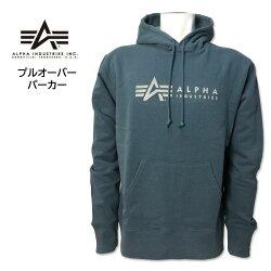 ALPHA(アルファ)ロゴフェルトプリントスウェットシャツトレーナーAマークヘザーグレーブラックアーミーグリーンネイビー黒紺TC1377スエットロングスリーブミリタリーアメカジファッション軍トップス