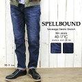SPELLBOUND(スペルバウンド/Men's)セルヴィッジデニムストレッチスリムジーンズ(40-171C)2014S/S新作≡送料無料≡