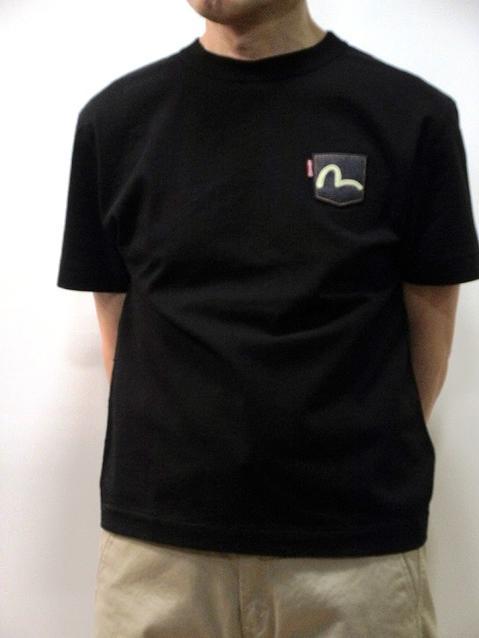 トップス, Tシャツ・カットソー EVISU T MADE IN JAPAN ETC5605NHBLKevisu