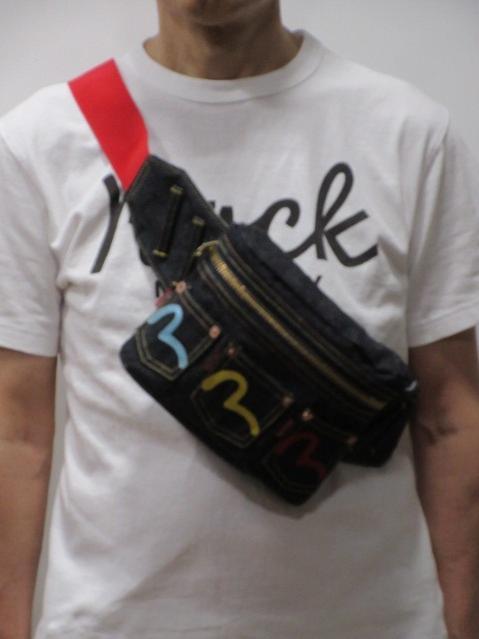 男女兼用バッグ, ボディバッグ・ウエストポーチ  3 EBD0105C300100EVISU