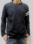 MOMOTARO JEANS 桃太郎ジーンズ 日本製 高級ジンバブエコットン 8.2オンス使用 ロングTシャツ 07-015 BK ブラック 送料無料 メンズ あす楽 通販 ポイント 人気 おすすめ 桃太郎JEANS