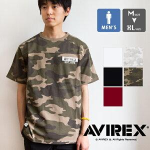 【SALE!!】【 AVIREX アヴィレックス 】 ビッグロゴ ルーズフィット メンズ 半袖 Tシャツ S/S BIG LOGO LOOSE FIT T-SHIRT 06103393 / avirex tシャツ avirex アビレックス avirex 半袖 アヴィレックス tシャツ トップス メンズ 丸首 白Tee ミリタリー 迷彩 20SS