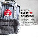 【Betty Smith ベティスミス】ガチャデニムリュックサックBKOMO5/デニム/レディース/デイバッグ/mini/BKOMO5