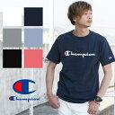 【Champion チャンピオン】筆記体ロゴ ベーシック Tシャツ C...