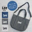 【Lee リー】2WAY TOTE SHOULDER BAG /QPE...
