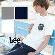【Lee リー】バンダナ柄ポケットS/S Tシャツ LT2183 /胸ポケット/ポケT/ペイズリー/Tシャツ/クルーネック/半袖/メンズ/
