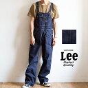 【 Lee リー 】 ダンガリーズ デニム オーバーオール LM7254 / メンズ レディース ユニセックス ワークパンツ カジュアル ブランド ヴィンテージ ルーズシルエット アメカジ・・・