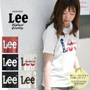 【Lee リー】Lee BIGロゴ スラブ素材 半袖プリントTシャツ ...