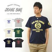 オリジナルユーエスエアフォース ミリタリー プリント Tシャツ アメリカ レディース