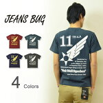 ��11thAIRFORCE��JEANSBUGORIGINALPRINTT-SHIRT���ꥸ�ʥ�桼���������ե�������11�����ߥ꥿�꡼�ץ���ȾµT����ĥ���ꥫ�����Ʒ�USAF��󥺥�ǥ������礭���������ӥå��������б���ST-11thAF��