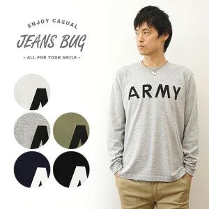 Tシャツ オリジナルアーミー ミリタリー プリント アメリカ シンプル レディース