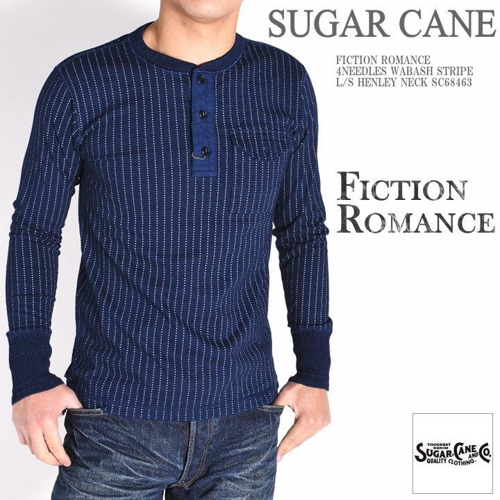 トップス, Tシャツ・カットソー  SUGAR CANE T FICTION ROMANCE 4NEEDLES T SC68463