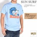 """SUN SURF サンサーフ × PEANUTS ピーナッツ スヌーピー コラボ Tシャツ """"SURF HAWAII"""" 半袖Tシャツ SS78227-124【2019春夏新作】"""