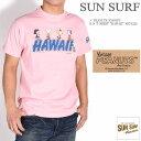 """SUN SURF サンサーフ × PEANUTS ピーナッツ スヌーピー コラボ Tシャツ """"HAWAII"""" 半袖Tシャツ SS78228-162"""