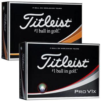 【ゴルフ】【ボール】タイトリスト TITLEIST 2017NEW Pro V1/Pro V1x プロV1/プロV1x ボール 1ダース(12個入)