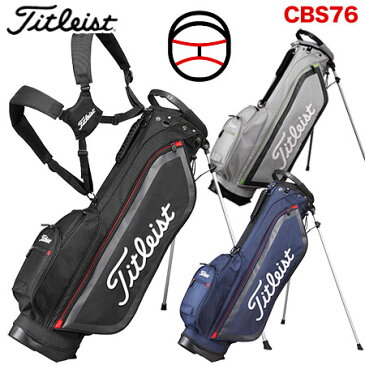 【ゴルフ】【キャディーバッグ】タイトリスト Titleist メンズ 小型スタンドバッグ CBS76 日本正規品