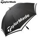 【ゴルフ】【アンブレラ】テーラーメイド TaylorMade メンズ TM シングルキャノピーアンブレラ 60 LNQ94 B16008【傘】
