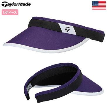 【ゴルフ】【サンバイザー】テーラーメイド TaylorMade レディース Women's Fashion Visor [B1598401] USA直輸入品