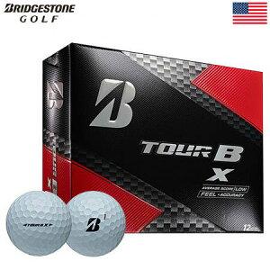 【ゴルフ】【ボール】ブリヂストンゴルフ BRIDGESTONE GOLF 2017 TOUR B X ボール 1ダース [フィーリング+正確性](USA直輸入品)MEGASALE