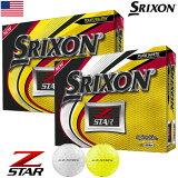スリクソン 2019 Z-STAR ゴルフボール 1ダース USA直輸入品 ウレタンカバー 3ピース MEGASALE