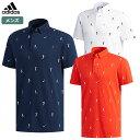 アディダス メンズ ADICROSS エンブロイダリー 半袖ボタンダウンシャツ FVE45 adidas 2019春夏