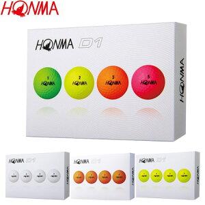本間ゴルフ HONMA New-D1 ゴルフボール 1ダース