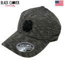 ブラッククローバー Black Clover ゴルフキャップ BC SLUB BLACK L/XL USA直輸入品