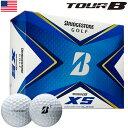 (タイガー使用)ブリヂストンゴルフ TOUR B XS ゴルフボール 2020年モデル 1ダース USA直輸入品【BRIDGESTONE GOLF】【スピン&コントロール】【2020TOURB】・・・