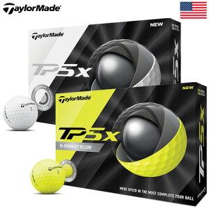 【D・ジョンソン使用】テーラーメイド NEW TP5X (2019-2020) ボール USA直輸入品【ソフト】【リッキー・ファウラー】