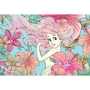 EPO-70-010 Disney Royal Floral (Ариэль) (Русалочка) 70 шт. [CP-PD] Украшение пазла Пазудеко Украшение пазла Ткань Пазл Подарок Подарок
