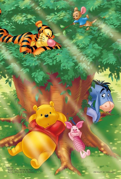 YAM-99-457 ディズニー 大きな木の下で(くまのプーさん) 99ピース パズル Puzzle ギフト 誕生日 プレゼント 誕生日プレゼント画像