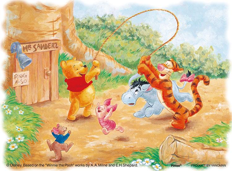 YAM-2301-11 ディズニー 楽しいひととき (くまのプーさん) 150ピース パズル Puzzle ギフト 誕生日 プレゼント画像